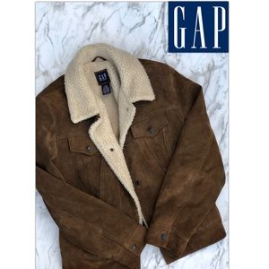 Awesome Vintage GAP Suede Jacket